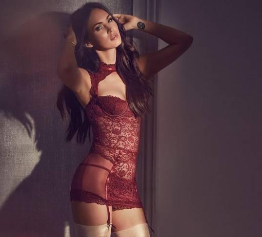Is Megan Fox's New Collarbone Tattoo A Tribute To Machine Gun Kelly?