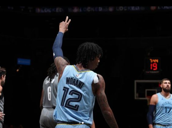 Grizzlies' Ja Morant leaves game vs. Nets in wheelchair after spraining left ankle