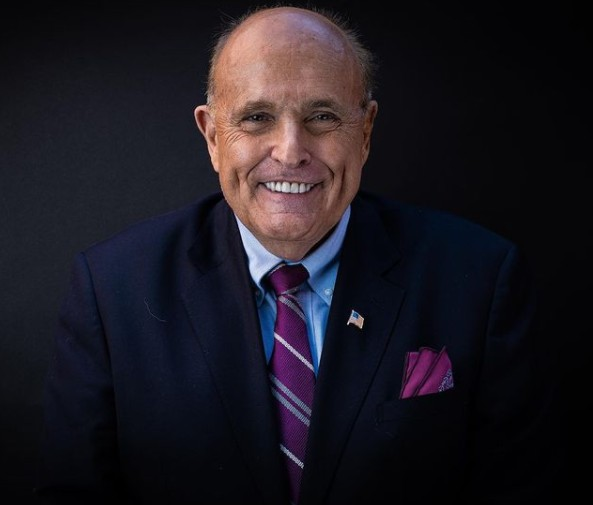 Rudy Giuliani has coronavirus, Donald Trump says