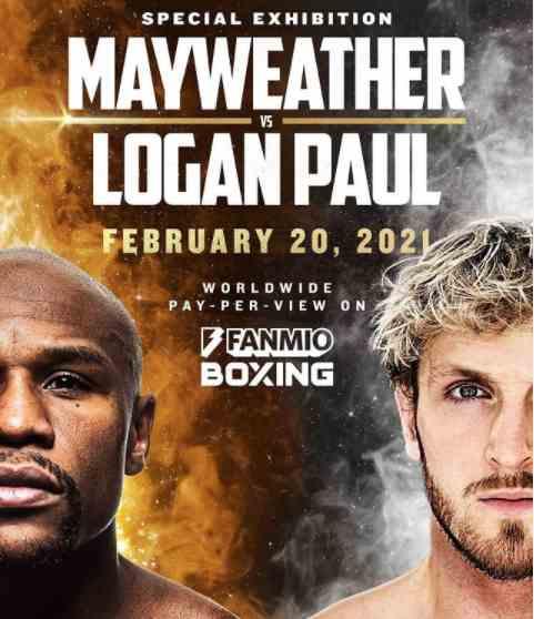 Floyd Mayweather is fighting Logan Paul in February